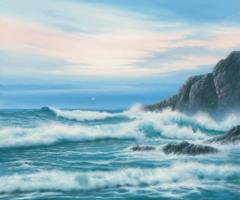 Atlantic Breakers on Cornish Coast #IG 6266