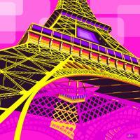 Tour Eiffel Rose #IG 7497