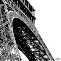 Tour Eiffel Curve #IG 7505