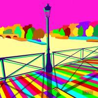 Pont des arts Happy #IG 7506