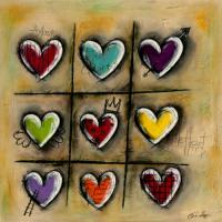 Colored Hearts II #IG 7699