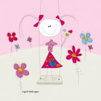 Girl on a Swing #IG 8077