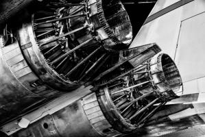 Dual Jet Engine #IG 9295